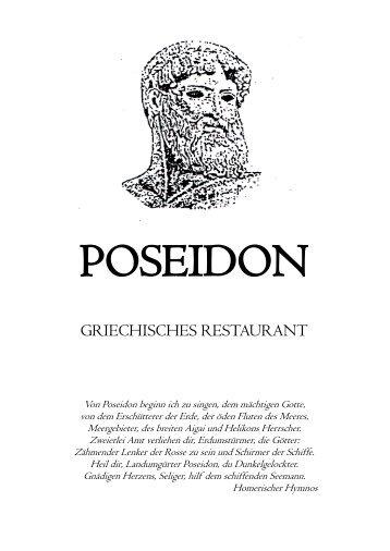 vom grill - Restaurant Poseidon Paderborn