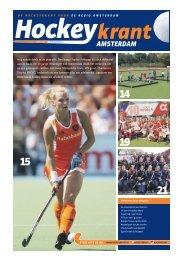 Hockeykrant Amsterdam voorjaar 2015