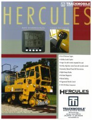 Hercules Spec Sheet - Voss Equipment