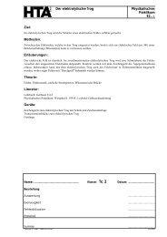 Der elektrolytische Trog Physikalisches Praktikum E2..-1 ... - hknoll.ch