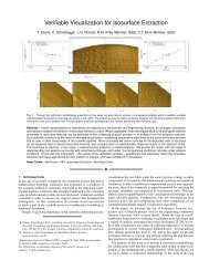 Verifiable Visualization for Isosurface Extraction - Scientific ...