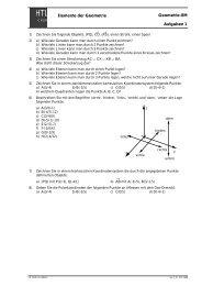 Aufgabensammlung Geometrie - hknoll.ch