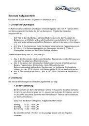 Konzept Betreute Aufgabenhilfe Schule Benken 2012