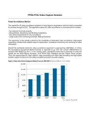 FPGA PCIe Video Capture Solution - Avnet Electronics Marketing