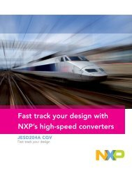 Fast track your design with NXP's high-speed converters