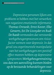 De Psycholoog - Clinical Cognition Lab