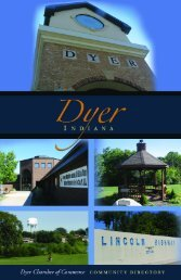 Dyer Directory - Countywide Guides & Maps