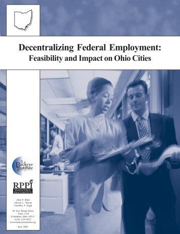 Decentralizing Federal Employment - Buckeye Institute