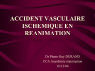 accident vasculaire ischemique en reanimation - reannecy.org