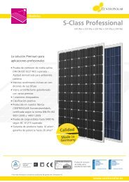 Panel Fotovoltaico CentroSolar S-Professional ... - SunFields Europe