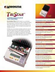 Ficha técnica regulador solar fotovoltaico ... - SunFields Europe