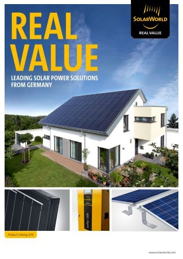 Technical data - SolarWorld