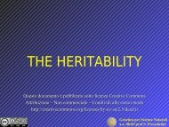 heritability.