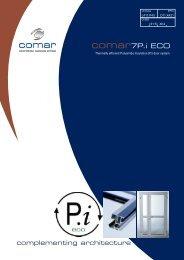 Comar 7Pi ECO Door System Brochure - Anglia Fixing