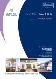 Comar 1,3,4 and 8 - ecoSHOWCASE