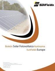 Manual de cálculo para instalaciones ... - SunFields Europe