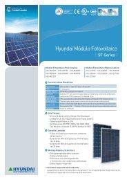 Hyundai Módulo Fotovoltaico