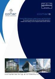 Comar 6 Curtain Walling Brochure - Anglia Fixing