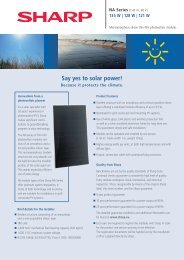 Say yes to solar power!