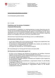 Poststelle Zweidlen - PostReg - admin.ch