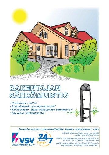 RAKENTAJAN SÄHKÖMUISTIO - Lännen Omavoima Oy
