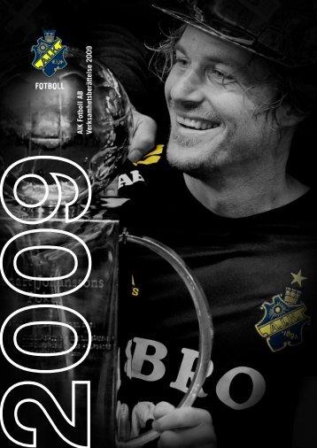 Årsredovisning 2009.pdf - AIK