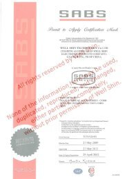Approval Certs - by Quail Electronics, Inc.