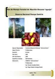 "7. plan de manejo forestal de mauritia flexuosa ""aguaje"""