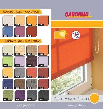 Rolety mini Rollo - Gardinia