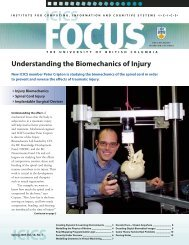 Understanding the Biomechanics of Injury - Biomedical Signal and ...