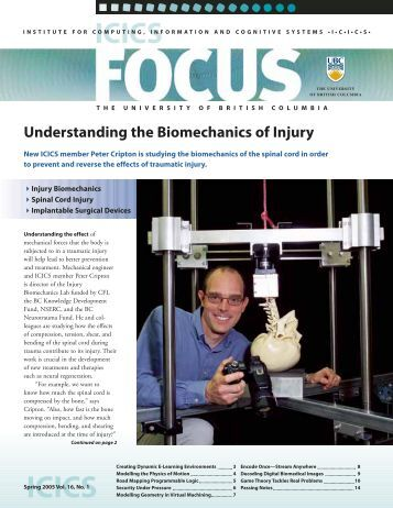 Understanding the Biomechanics of Injury - Biomedical Signal and ...