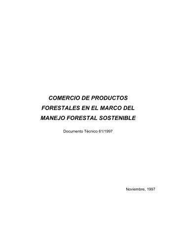COMERCIO DE PRODUCTOS FORESTALES EN EL MARCO DEL ...