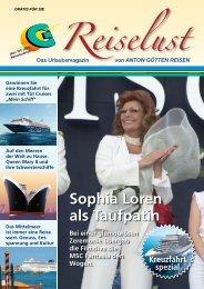 Sophia Loren als Taufpatin - Anton Götten Reisen