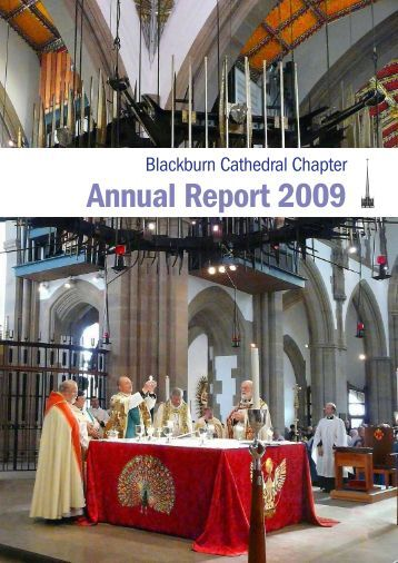 Annual Report 2009 - Blackburn Cathedral