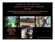 """II TALLER """"Investigación y Transferencia Tecnológica para ..."""