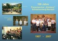 1907 - 2007 100 Jahre - Posaunenchor
