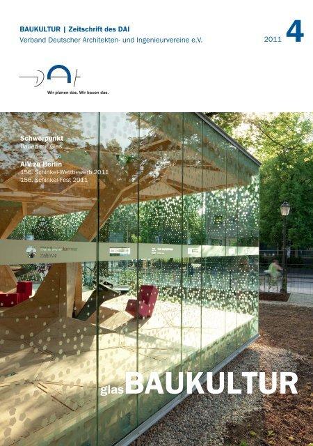 Zeitschrift BAUKULTUR runterladen (PDF, 3,4MB) -  Verband ...