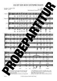 ES IST EIN ROS' ENTSPRUNGEN - prospect Studio-Label-Verlag