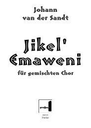 Johann van der Sandt - prospect Studio-Label-Verlag