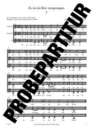 Es ist ein Ros' entsprungen I - prospect Studio-Label-Verlag