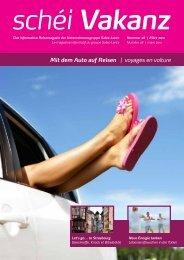 Mit dem Auto auf Reisen | voyages en voiture - Sales-Lentz