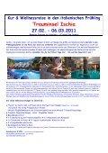 Reisebuch 2011 Urlaub für Genießer - SVG Reisen - Peter R Bach - Seite 5