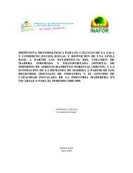 propuesta metodológica para el cálculo de la tala y ... - MASRENACE
