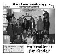Kirchenzeitung 2011-01 Februar - Kirchetreysa.de
