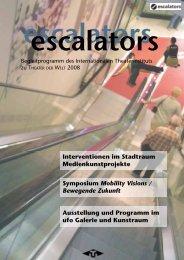 ESCALATORS PROGRAMM [pdf, 3MB] - ITI Germany