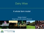 Dairy Wise - European Grassland Federation