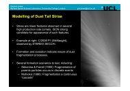 Geraint Jones: Modelling of dust trial striae - DNN Pro Outer > Home