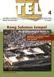 Kong Salomos tempel - Selskab for Bibelsk Arkæologi
