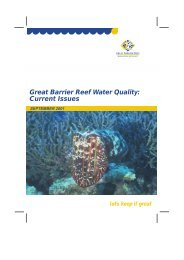Great Barrier Reef Water Quality: Current Issues
