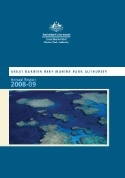 Annual Report 2008-2009 - Great Barrier Reef Marine Park Authority